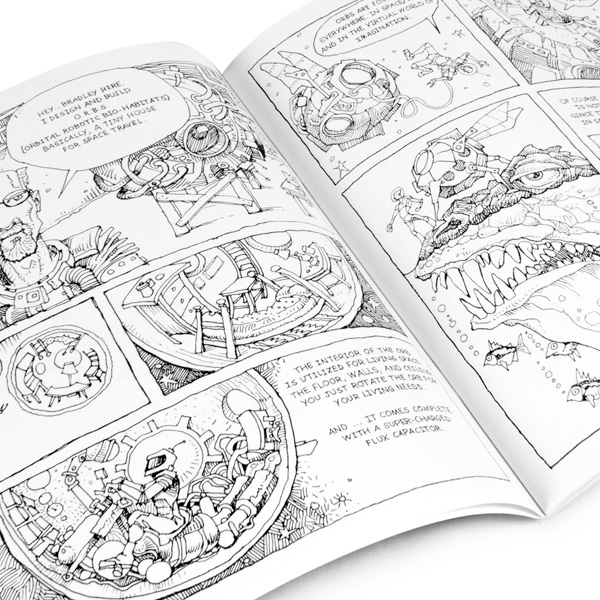 Print A Professional Quality Custom Coloring Book